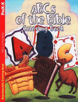 ABC'S OF THE BIBLE COLORING BOOK 2-5