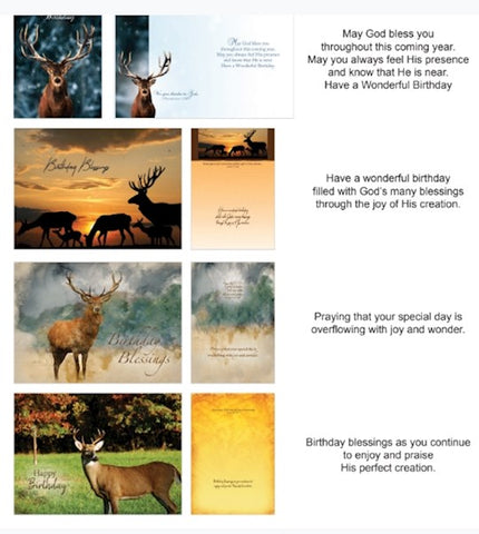 BOXED CARDS - BD - WILDLIFE