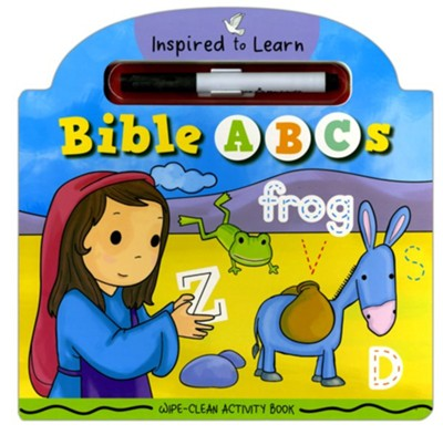 BIBLE ABCS WIPE CLEAN ACTIVITY BOOK