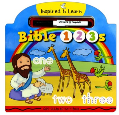 BIBLE 123S WIPE CLEAN ACTIVITY BOOK