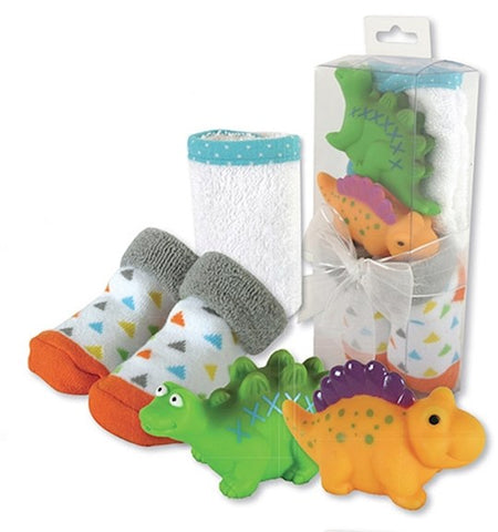 BABY GIFT SET - SOCKS & BATH TOYS
