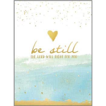 BIBLE COMPANION PRAYER JOURNAL - BE STILL