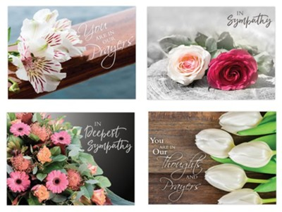 BOXED CARDS - SYMPATHY - BOUQUETS