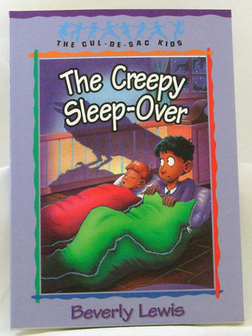 THE CREEPY SLEEP OVER, THE CUL-DE-SAC-KIDS, BEVERLY LEWIS- Paperback