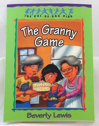 THE GRANNY GAME, THE CUL-DE-SAC-KIDS, BEVERLY LEWIS- Paperback
