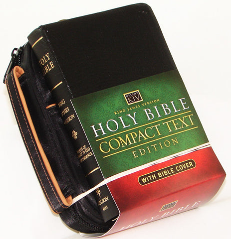 KJV BIBLE COVER & BIBLE COMBO BLACK