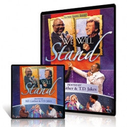GAITHER GOSPEL SERIES -  WE WILL STAND - DVD & CD SET