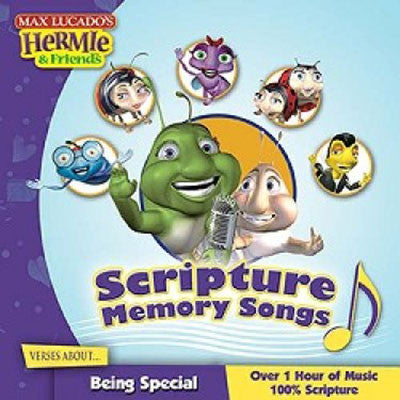 HERMIE & WORMIE SCRIPTURE MEMORY BEING SPECIAL-CD