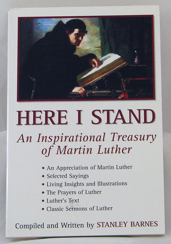 HERE I STAND, STANLEY BARNES- Paperback
