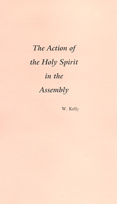 ACTION OF THE HOLY SPIRIT - PAMPHLET