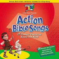 ACTION BIBLE SONGS CD CEDARMONT KIDS