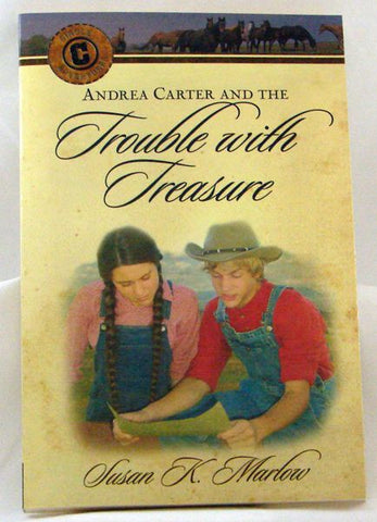 ANDREA CARTER AND TROUBLE WITH TREASURE
