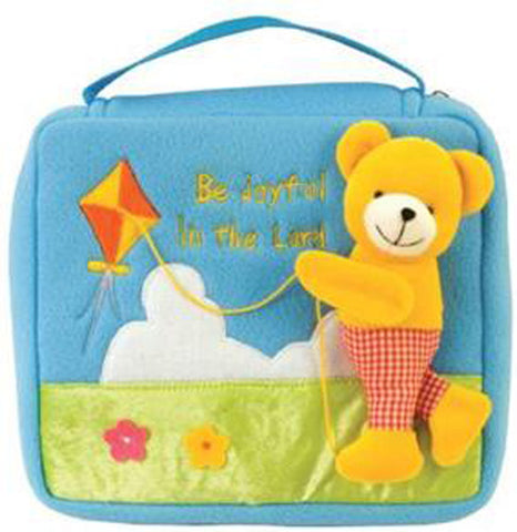 BE JOYFUL PLUSH-BIBLE CASE