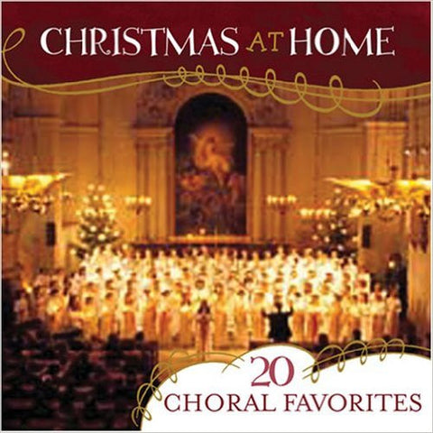 CHRISTMAS AT HOME 20 GOSPEL FAVORITES-CHRISTMAS MUSIC