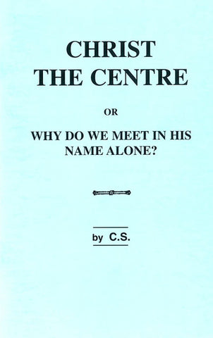 CHRIST THE CENTRE, CHARLES STANLEY  - Paperback