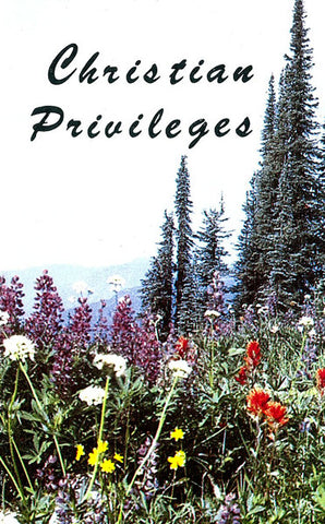 CHRISTIAN PRIVILEGES, VARIOUS- Paperback