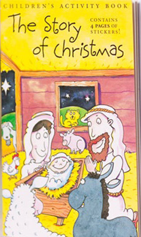 THE STORY OF CHRISTMAS ACTIVITY BOOK -CHRISTMAS