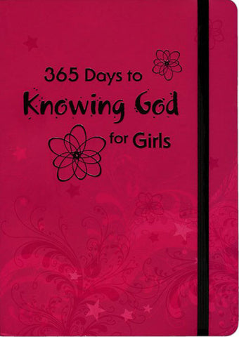 365 DAYS TO KNOWING GOD FOR GIRLS - paperback