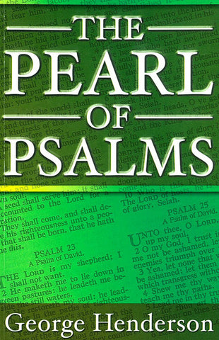 THE PEARL OF PSALMS, G. HENDERSON- Paperback
