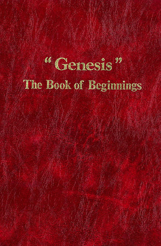 """GENESIS"" THE BOOK OF BEGINNINGS, C. WILLIS- Hardcover"