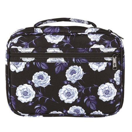 BIBLE CASE - BLACK FLORAL