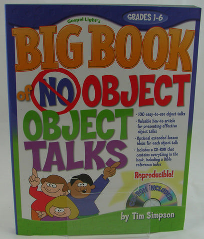 BIG BOOK OF NO OBJECT TALKS