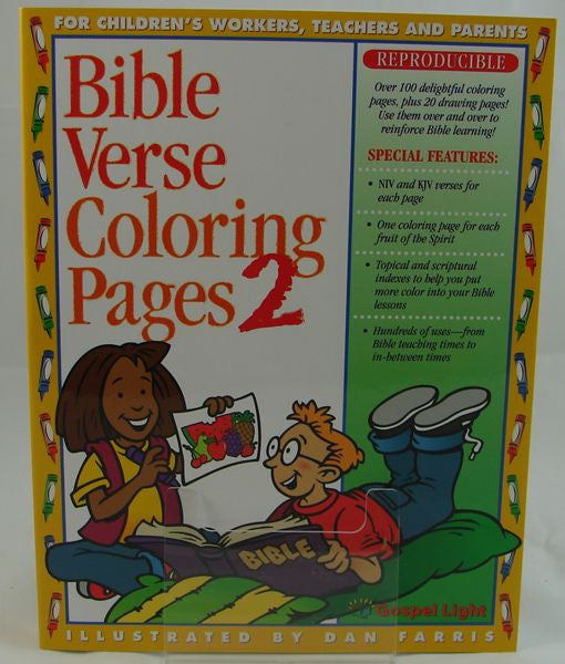 BIBLE VERSE COLORING PAGES 2