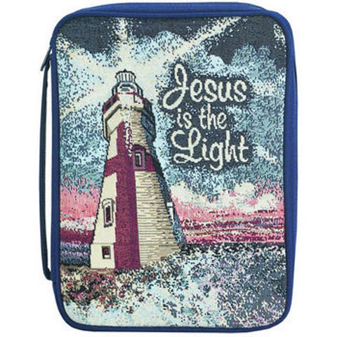 BIBLE CASE - JESUS IS THE LIGHT LG/MED