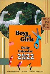 BOYS AND GIRLS 2021 - WALL HANGING