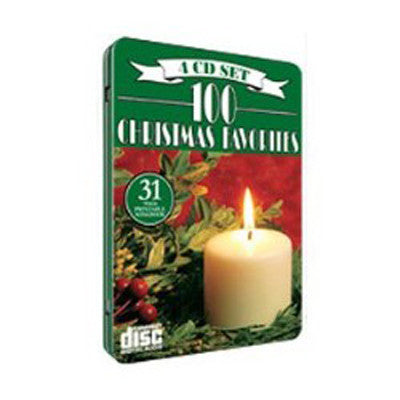 4CD SET 100 CHRISTMAS FAVORITES-CHRISTMAS