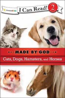 I CAN READ - MADE BY GOD - CATS DOGS HAMSTERS & HORSES