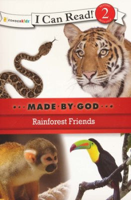 I CAN READ - MADE BY GOD - RAINFOREST FRIENDS