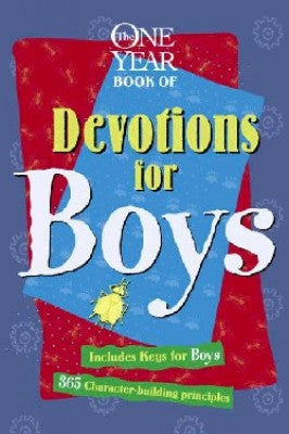 ONE YEAR BOOK OF DEV FOR BOYS -TYNDALE