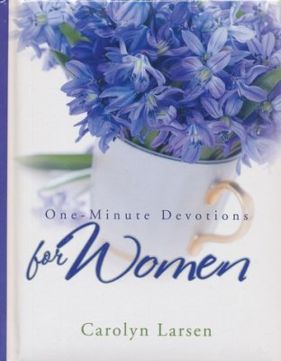 ONE MINUTE DEVOTIONS FOR WOMEN-HARDCOVER