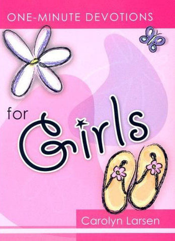 ONE MINUTE DEVOTIONS FOR GIRLS-HARDCOVER