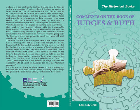 COMMENTS ON THE BOOKS OF JUDGES & RUTH - L.M.GRANT