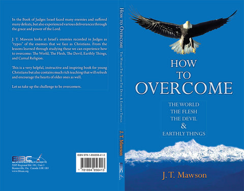 HOW TO OVERCOME - J.T.MAWSON
