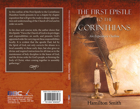 THE FIRST EPISTLE TO THE CORINTHIANS - HAMILTON SMITH - PAPERBACK