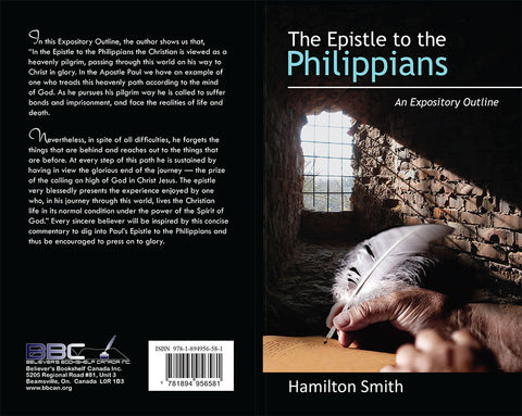 THE EPISTLE TO THE PHILIPPIANS - HAMILTON SMITH