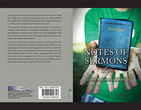 NOTES OF SERMONS - JOHN NELSON DARBY - PAPERBACK