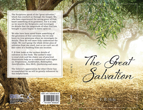 THE GREAT SALVATION, F.B. HOLE - Paperback