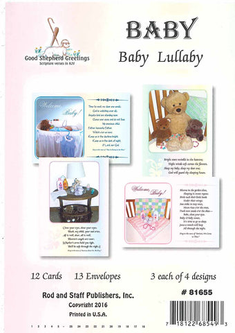 BOXED CARD - BABY - BABY LULLABY