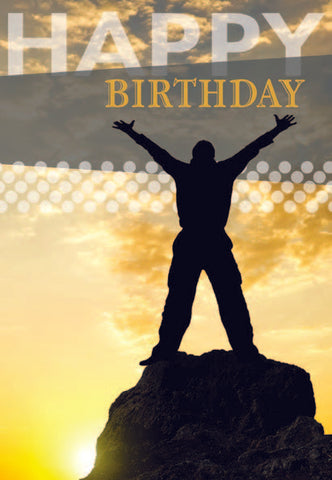 BOXED CARD - BIRTHDAY - BIRTHDAY FOR HIM
