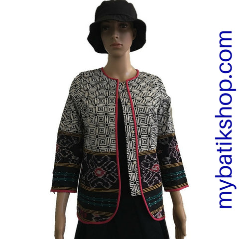 Batik Cap and Tenun Blazer