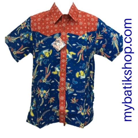 Batik Keris for Boys Disney Size 2