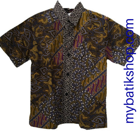 Batik Keris for Boy Blue Multi