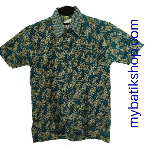 Batik for Boys Blue