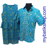 Couple Batik Rang-rang Blue