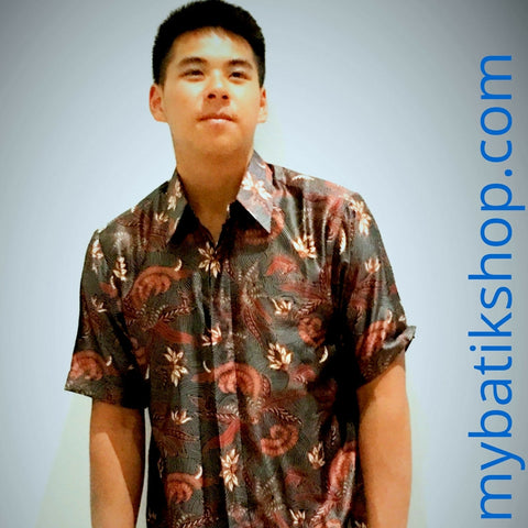 Batik for Men Semi Silk Short Sleeves