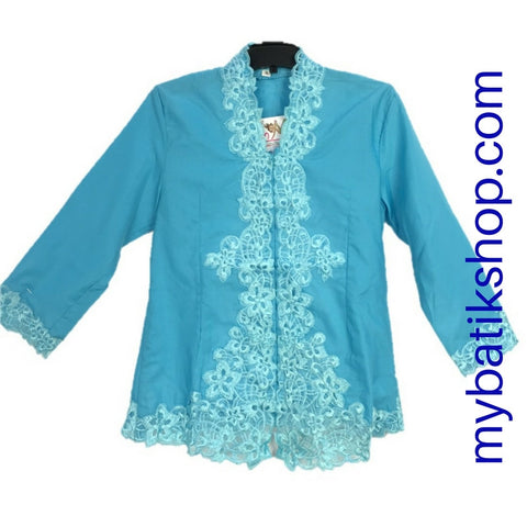 Kebaya for Girls Blue